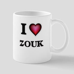 I Love ZOUK Mugs