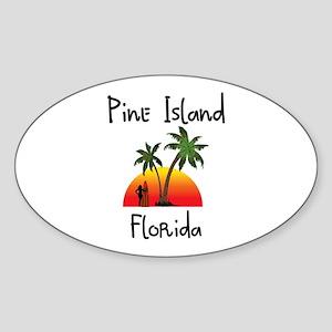 Pine Island Florida Sticker