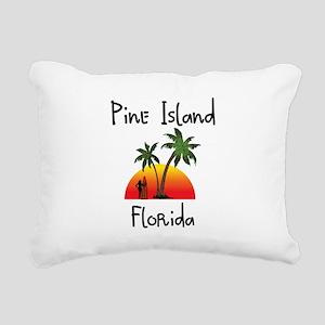 Pine Island Florida Rectangular Canvas Pillow