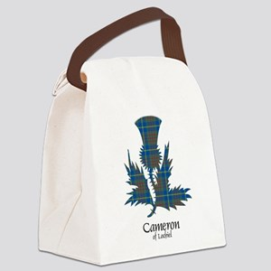 Thistle-CameronLochiel hunting Canvas Lunch Bag