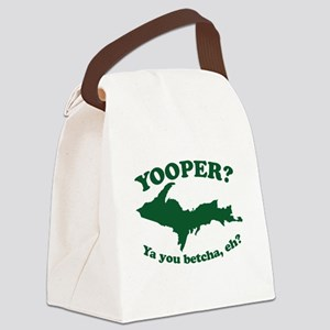 Yooper Canvas Lunch Bag