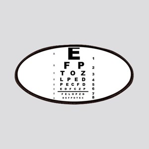 Eye Test Chart Patch