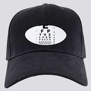 Eye Test Chart Black Cap