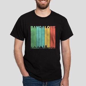 Retro Bangalore India Skyline T-Shirt
