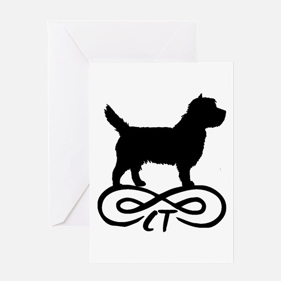 Cairn Terrier Infinity Greeting Card