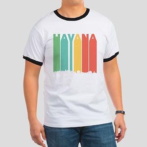 Retro Havana Cuba Skyline T-Shirt