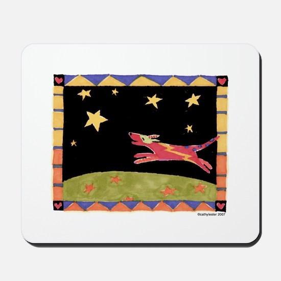 Star Dog Mousepad