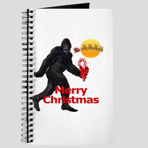 Bigfoot believes in Santa Claus Journal