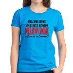 Operation Nookie You're in Command Women's Dark T