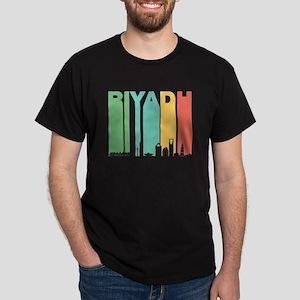 Retro Riyadh Saudi Arabia Skyline T-Shirt
