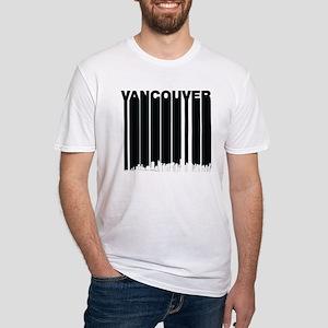 Retro Vancouver Canada Skyline T-Shirt