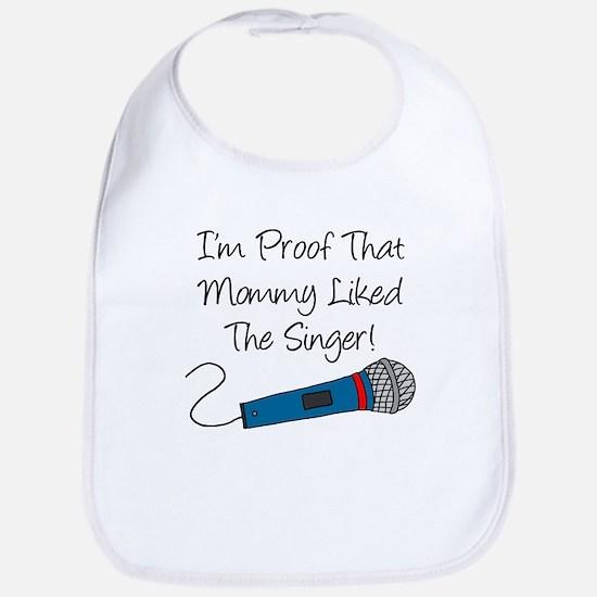 Im Proof Mommy Blue Singer Bib