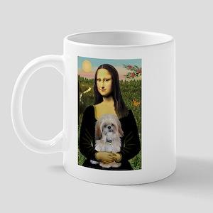Mona Lisa/Shih Tzu (P) Mug