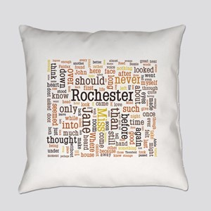 Jane Eyre Word Cloud Everyday Pillow