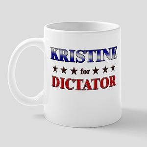 KRISTINE for dictator Mug
