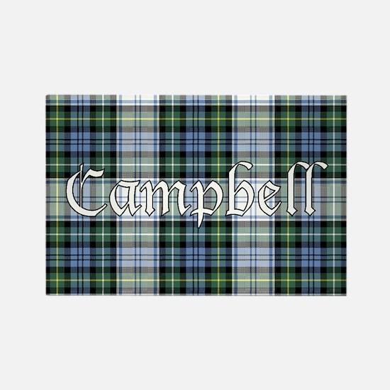 Tartan - Campbell dress Rectangle Magnet