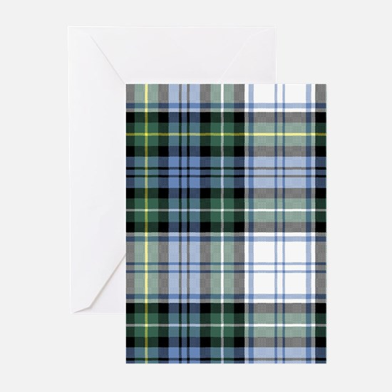 Tartan - Campbell dress Greeting Cards (Pk of 20)