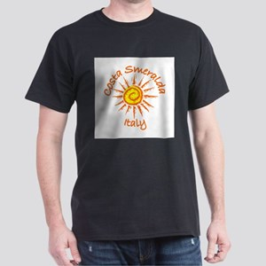 Costa Smeralda, Italy Dark T-Shirt