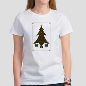 Quilted Christmas Women's T-Shirt