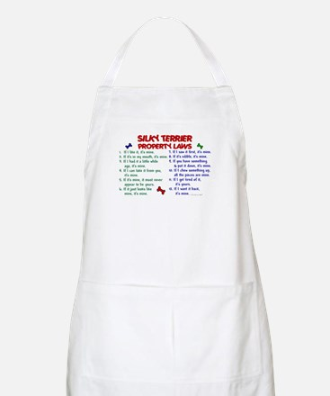 Silky Terrier Property Laws 2 BBQ Apron
