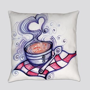 Empty Bowls Soup Supper Everyday Pillow