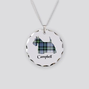 Terrier-Campbell dress Necklace Circle Charm