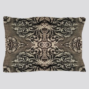 steampunk ornate western country Pillow Case