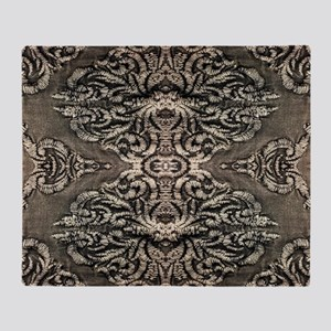 steampunk ornate western country Throw Blanket