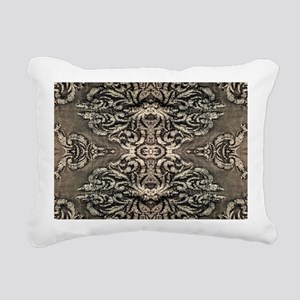 steampunk ornate western Rectangular Canvas Pillow