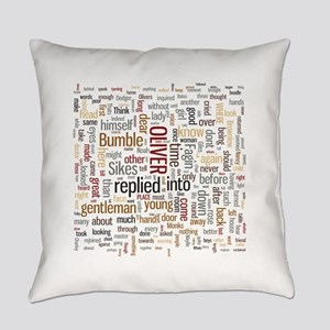 Oliver Twist Word Cloud Everyday Pillow