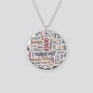 Oliver Twist Word Cloud Necklace