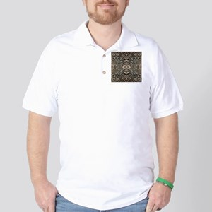 steampunk ornate western country Golf Shirt