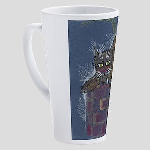 monday hangover 17 oz Latte Mug