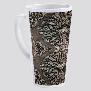 steampunk ornate western country 17 oz Latte Mug