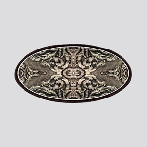 steampunk ornate western country Patch