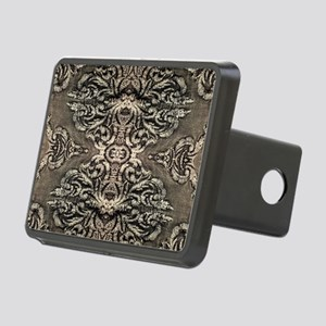 steampunk ornate western c Rectangular Hitch Cover