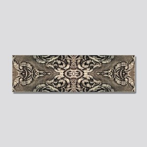 steampunk ornate western country Car Magnet 10 x 3