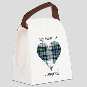 Heart-Campbell dress Canvas Lunch Bag