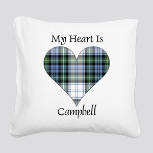 Heart-Campbell dress Square Canvas Pillow