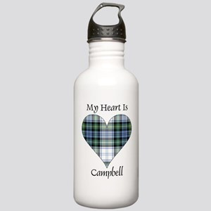 Heart-Campbell dress Stainless Water Bottle 1.0L
