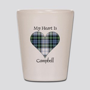 Heart-Campbell dress Shot Glass