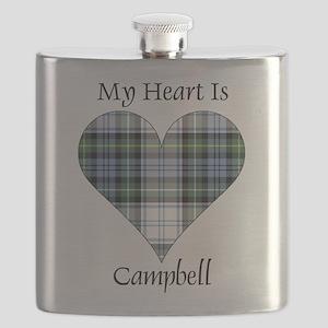 Heart-Campbell dress Flask