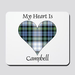 Heart-Campbell dress Mousepad