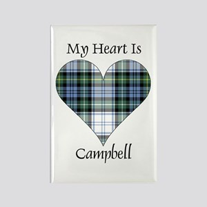 Heart-Campbell dress Rectangle Magnet