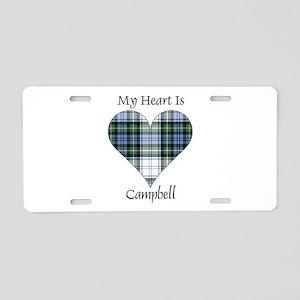 Heart-Campbell dress Aluminum License Plate