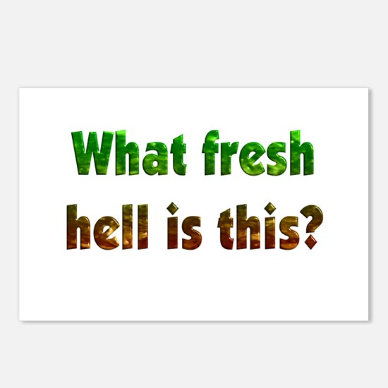Fresh Hell Postcards (Package of 8)