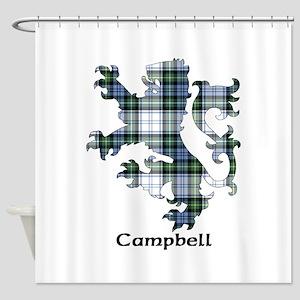 Lion-Campbell dress Shower Curtain