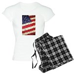 Abstract American Flag Pajamas