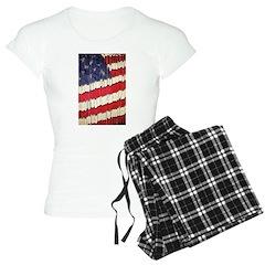 Abstract American Flag Pajamas