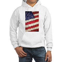 Abstract American Flag Hoodie